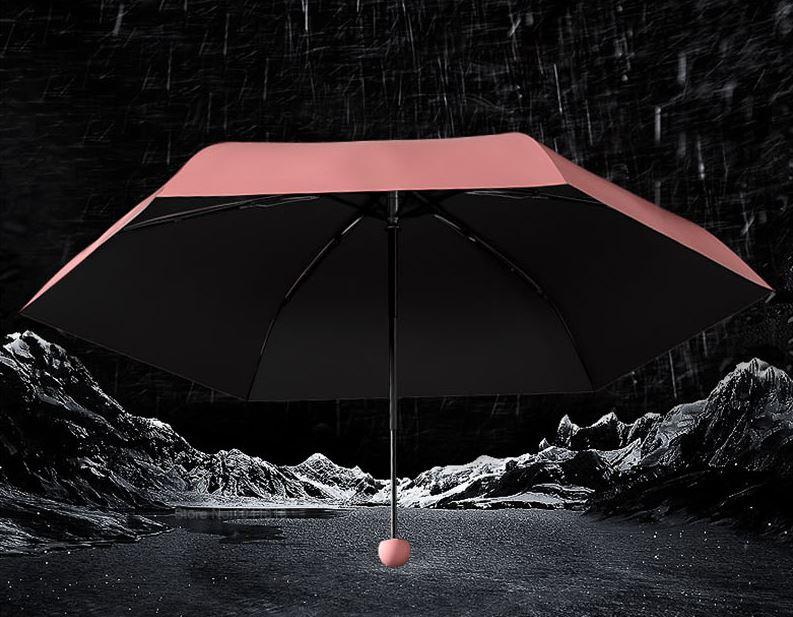 Este paraguas que vende Xiaomi es tan pequeño que cabe en tu mano. Noticias Xiaomi Adictos