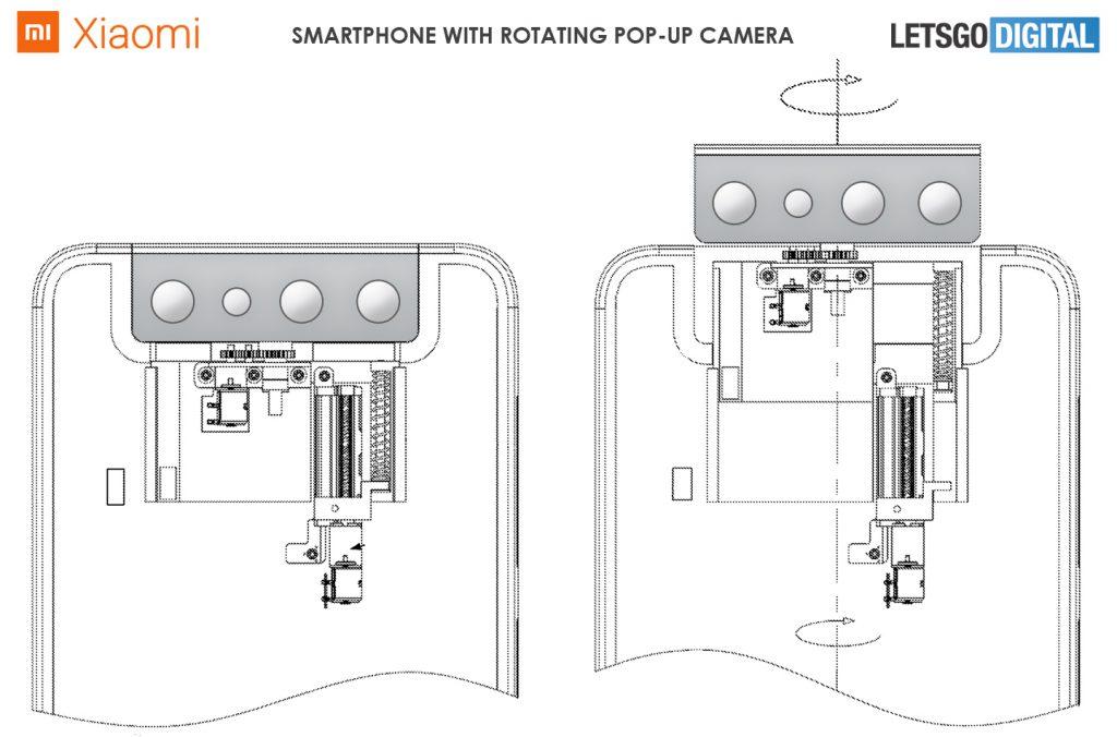 Ni retráctil, ni bajo pantalla, la última idea de Xiaomi es una cámara selfie rotatoria. Noticias Xiaomi Adictos