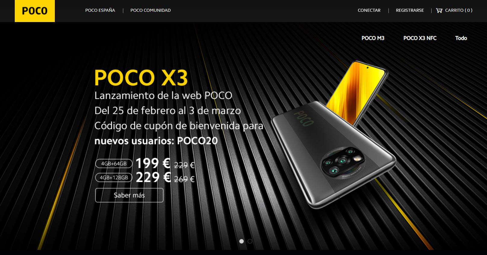 POCO lanza su propia tienda online en España y se vuelve más independiente de Xiaomi. Noticias Xiaomi Adictos