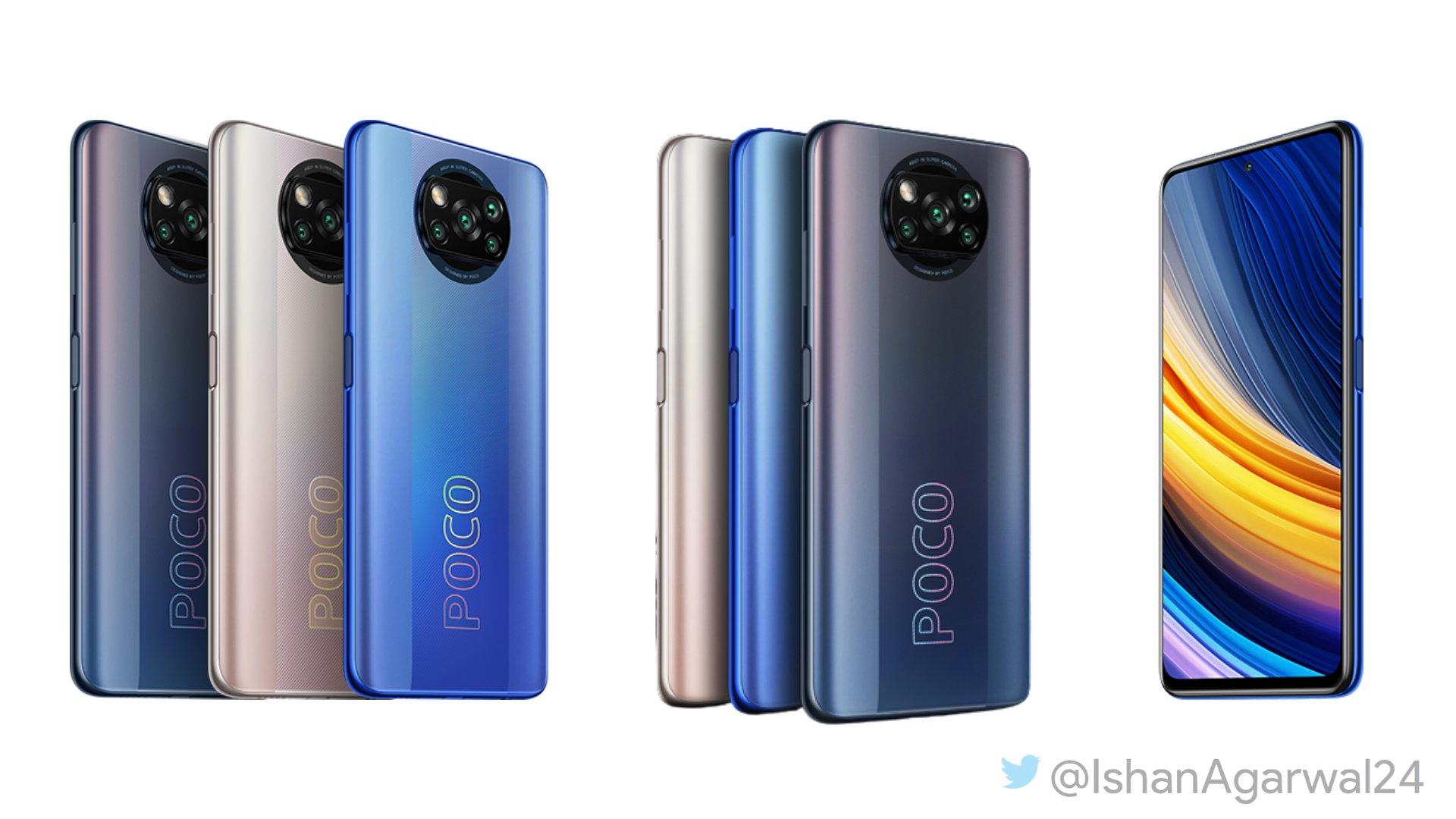Así sería el diseño del POCO X3 Pro según los últimos renders filtrados. Noticias Xiaomi Adictos