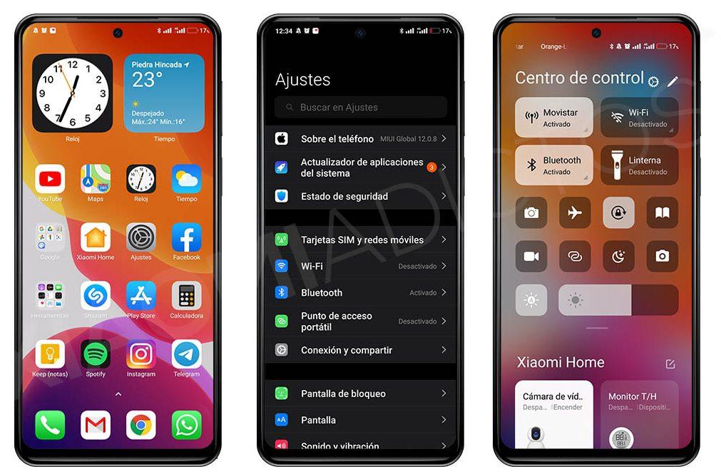 Este es el mejor tema para convertir tu Xiaomi en un iPhone con iOS . Noticias Xiaomi Adictos