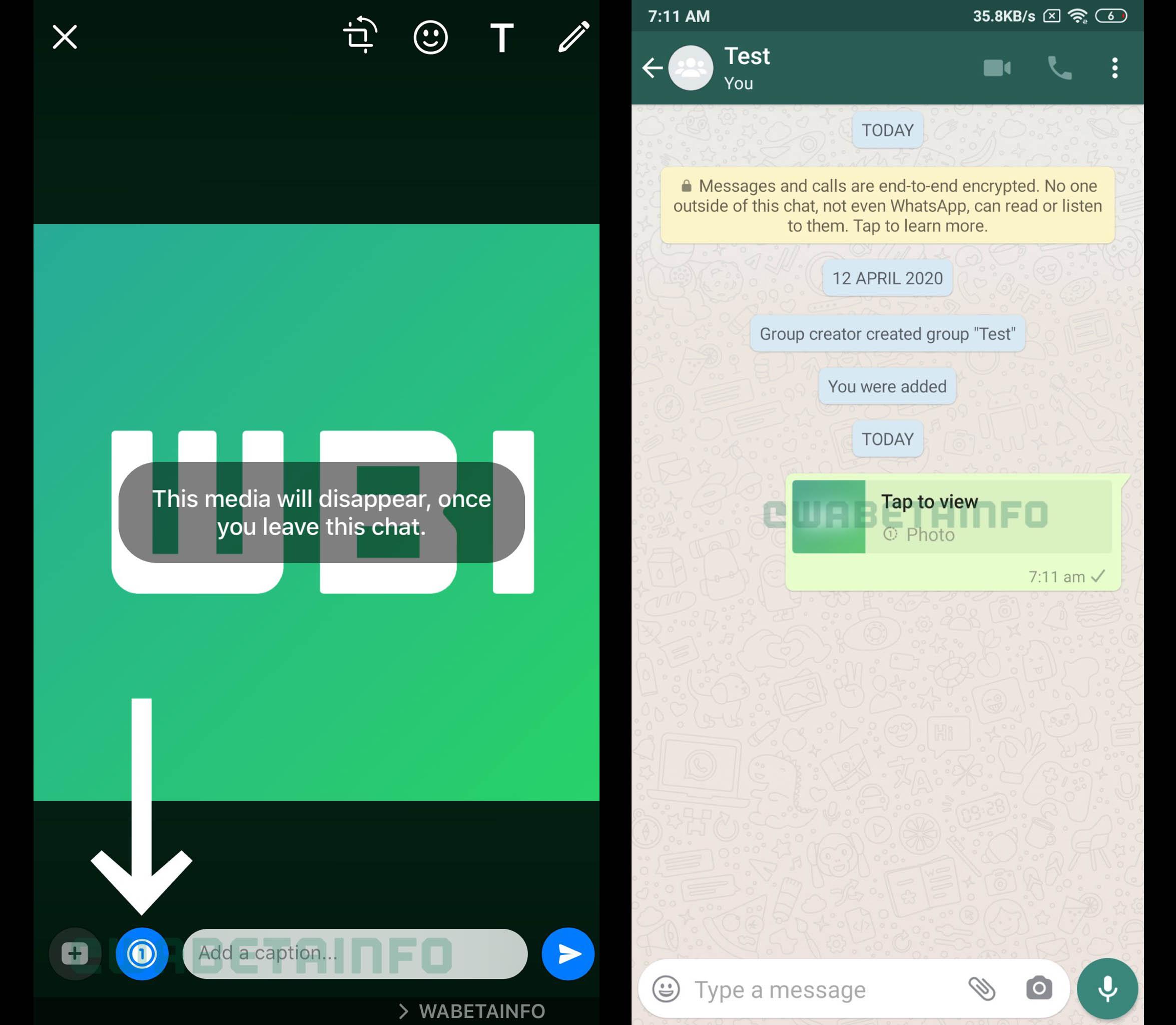 WhatsApp comienza a probar un nuevo sistema de auto-destrucción de imágenes. Noticias Xiaomi Adictos