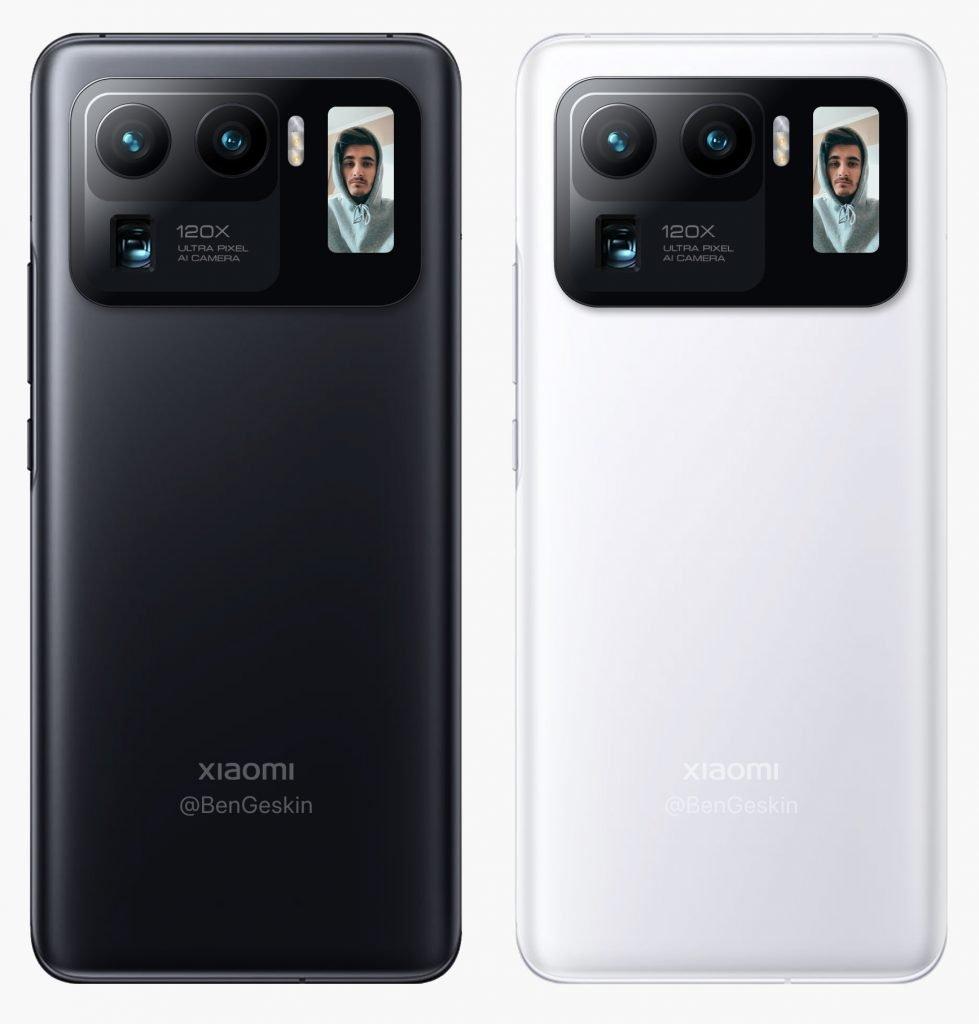 El Xiaomi Mi 11 Pro también contará con una pequeña pantalla secundaria. Noticias Xiaomi Adictos