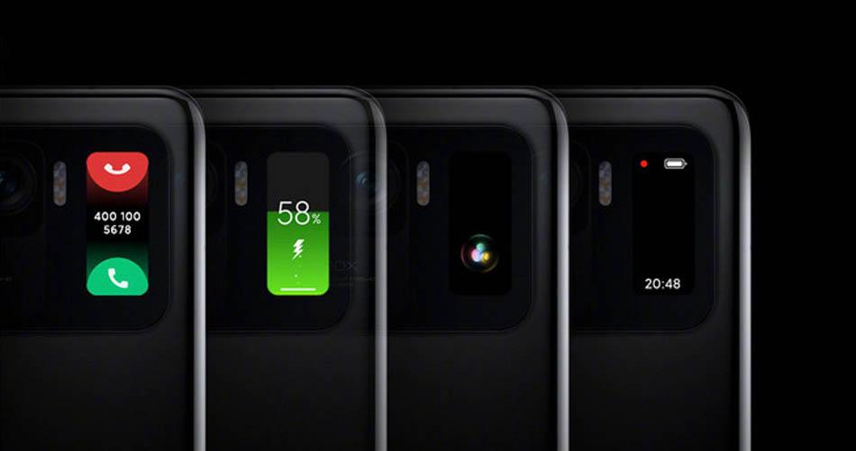 Esto es todo lo que nos permite la mini pantalla del Xiaomi Mi 11 Ultra. Noticias Xiaomi Adictos