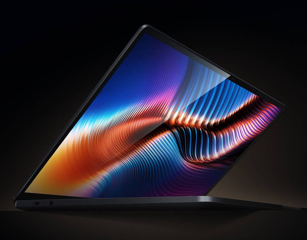 This is how thin the frames of the new Xiaomi laptop will be