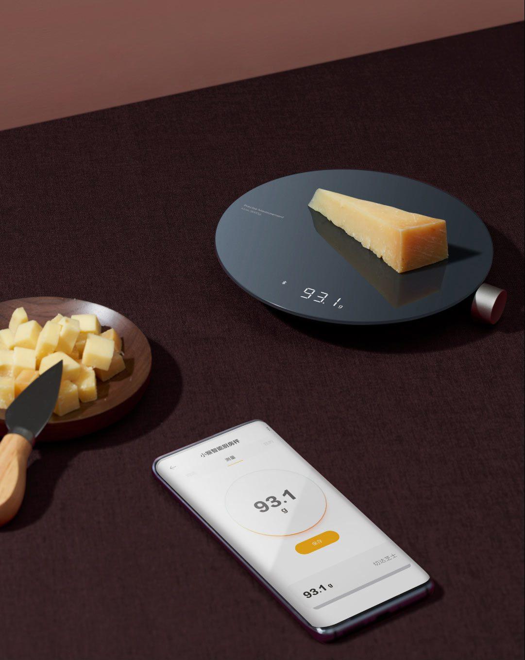 Lo último de Xiaomi es esta báscula de cocina inteligente capaz de contar calorías. Noticias Xiaomi A