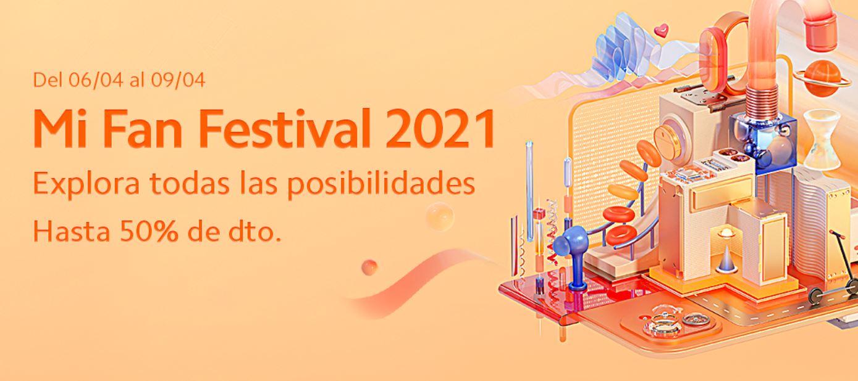 Comienza el Mi Fan Festival 2021 de Xiaomi: descuentos, compras conjuntas y regalos. Noticias Xiaomi Adictos