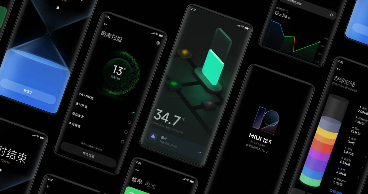 La segunda oleada de MIUI 12.5 comienza a llegar a los primeros dispositivos. Noticias Xiaomi Adictos