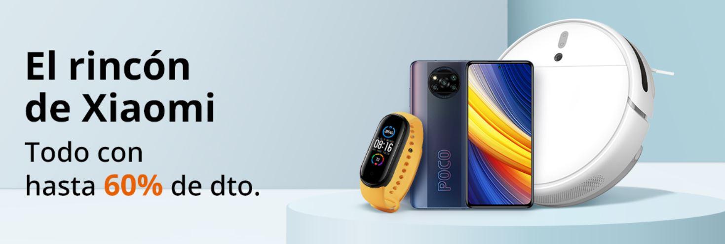 """Arranca """"El rincón de Xiaomi"""", una nueva sección de AliExpress cargada de ofertas"""