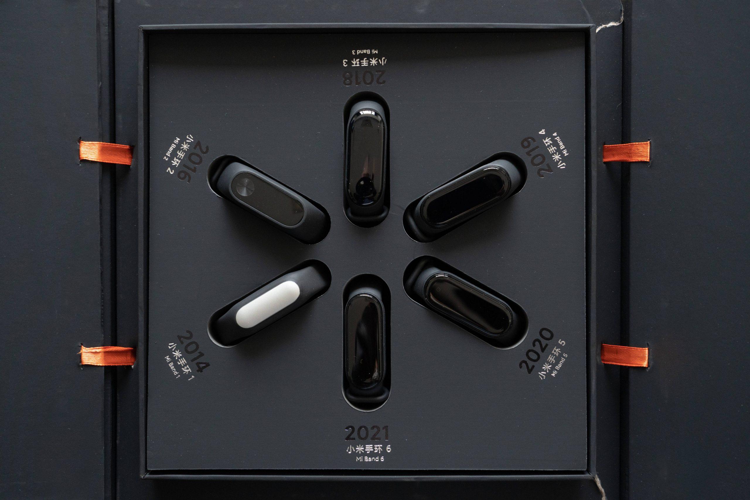 Así es la edición especial para coleccionistas que incluye todas las Xiaomi Mi Band. Noticias Xiaomi Adictos