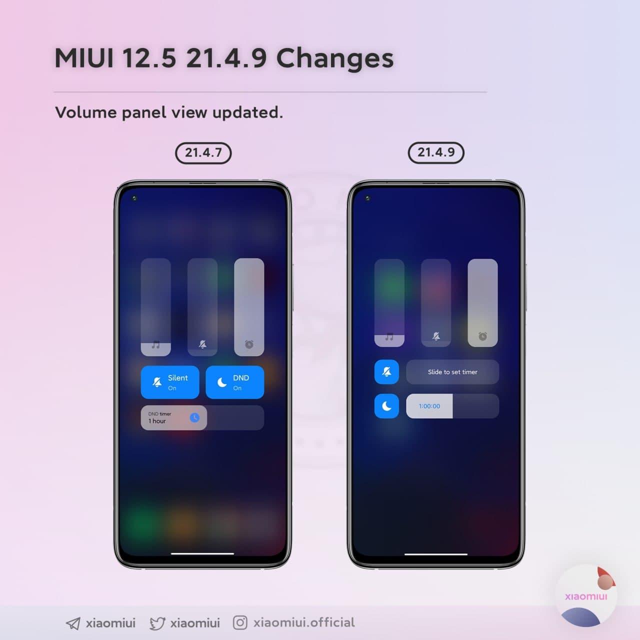 Xiaomi vuelve a actualizar el panel de volumen con nuevas funcionalidades (Descargar). Noticias Xiaomi Adictos