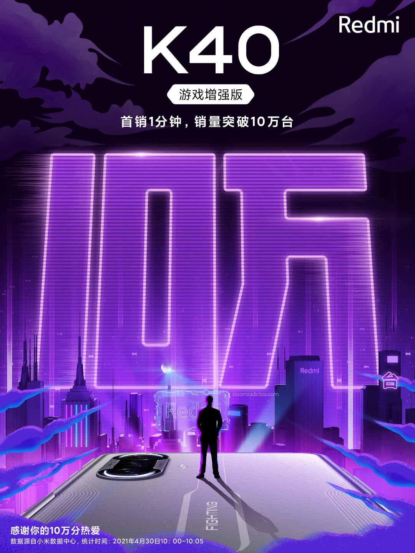 El Redmi K40 Gaming arrasa en su primer día a la venta. Noticias Xiaomi A
