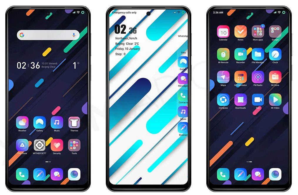 This theme will give a more colorful and fun touch to your Xiaomi