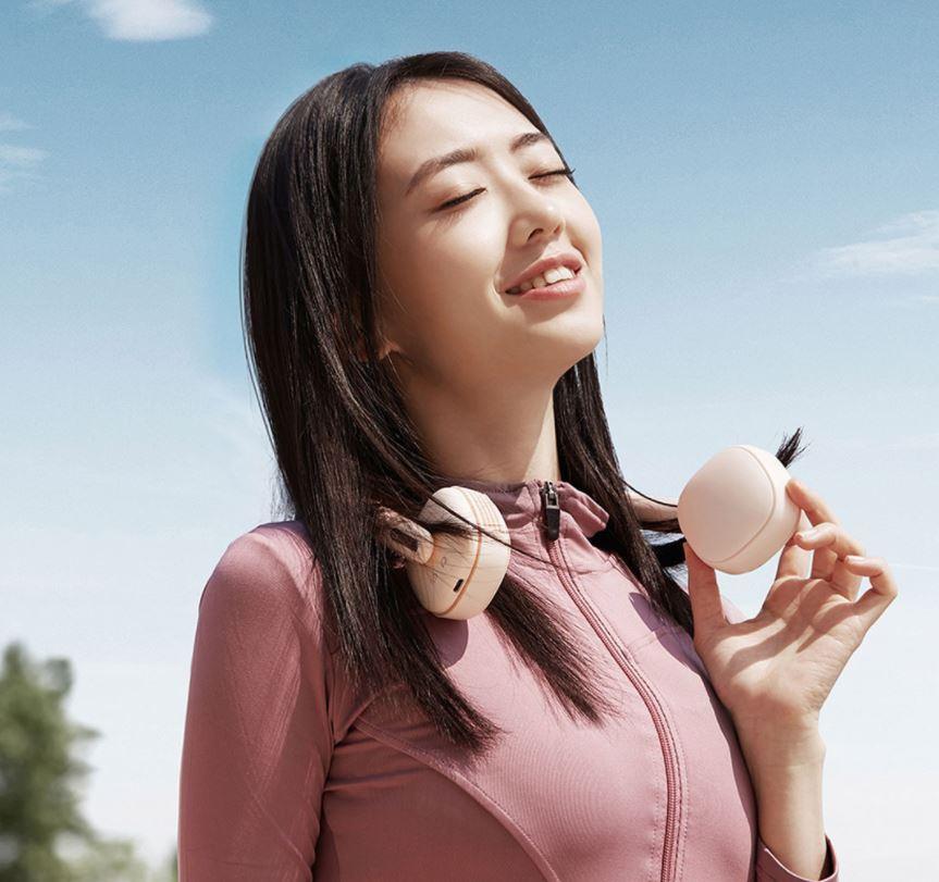 Lo último de Xiaomi es este ventilador de cuello para hacer deporte en la calle. Noticias Xiaomi Adictos