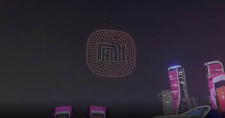 Así de espectacular ha sido el Xiaomi Mi Mix Fold recreado con cientos de drones. Noticias Xiaomi Adictos