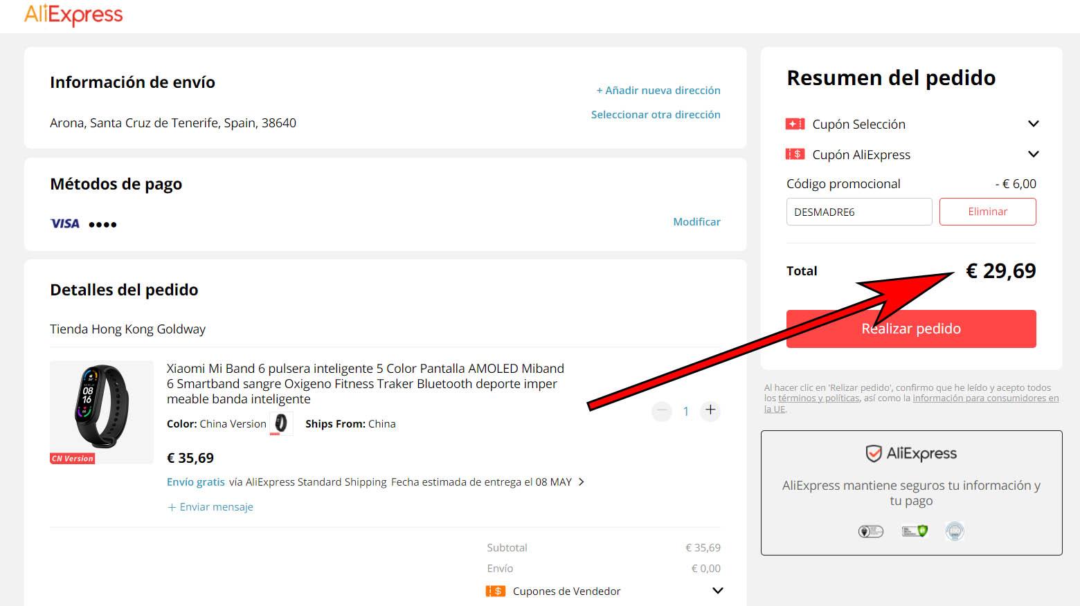 Dónde comprar la nueva Xiaomi Mi Band 6 al mejor precio: ofertas desde 29 euros. Noticias Xiaomi Adictos