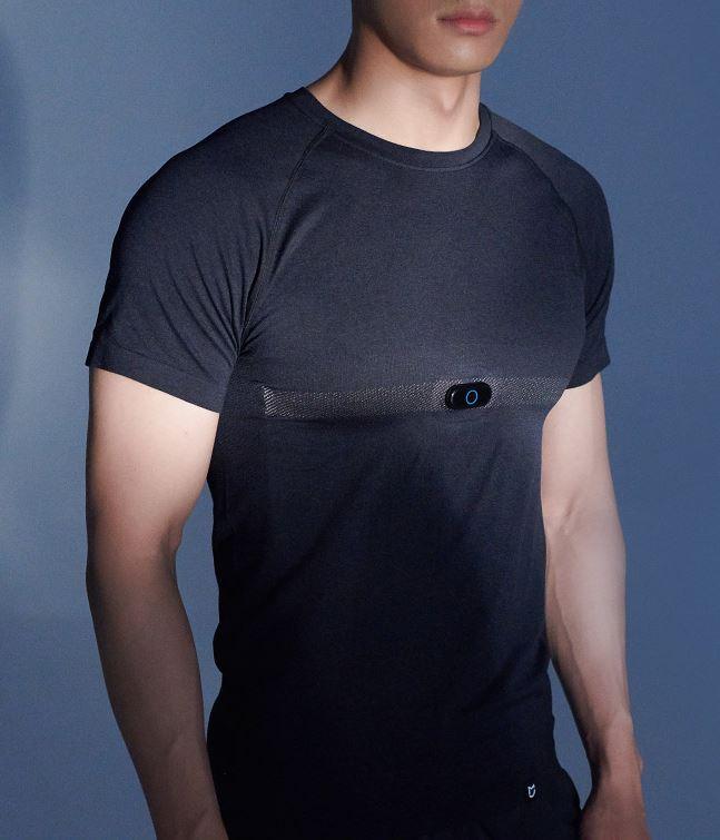 Esta camiseta deportiva de Xiaomi es capaz de monitorizar tu frecuencia cardíaca. Noticias Xiaomi Adictos