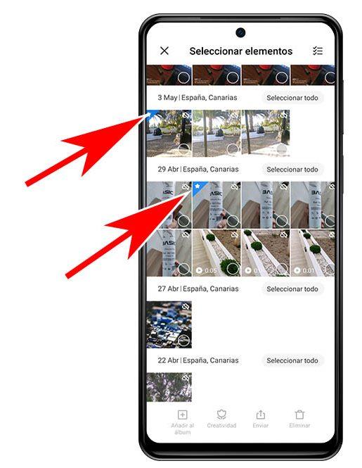 Qué significa la estrella que aparece en ciertas fotografías de la galería de tu Xiaomi. Noticias Xiaomi Adictos