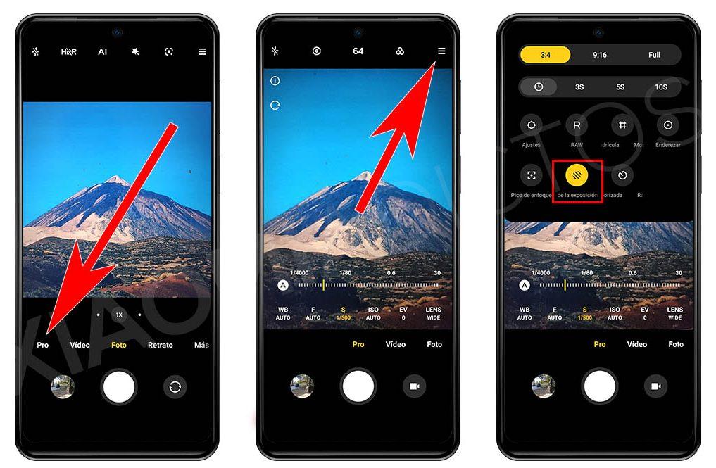 Cómo activar el medidor de luz de tu Xiaomi para conseguir mejores fotografías. Noticias Xiaomi Adictos