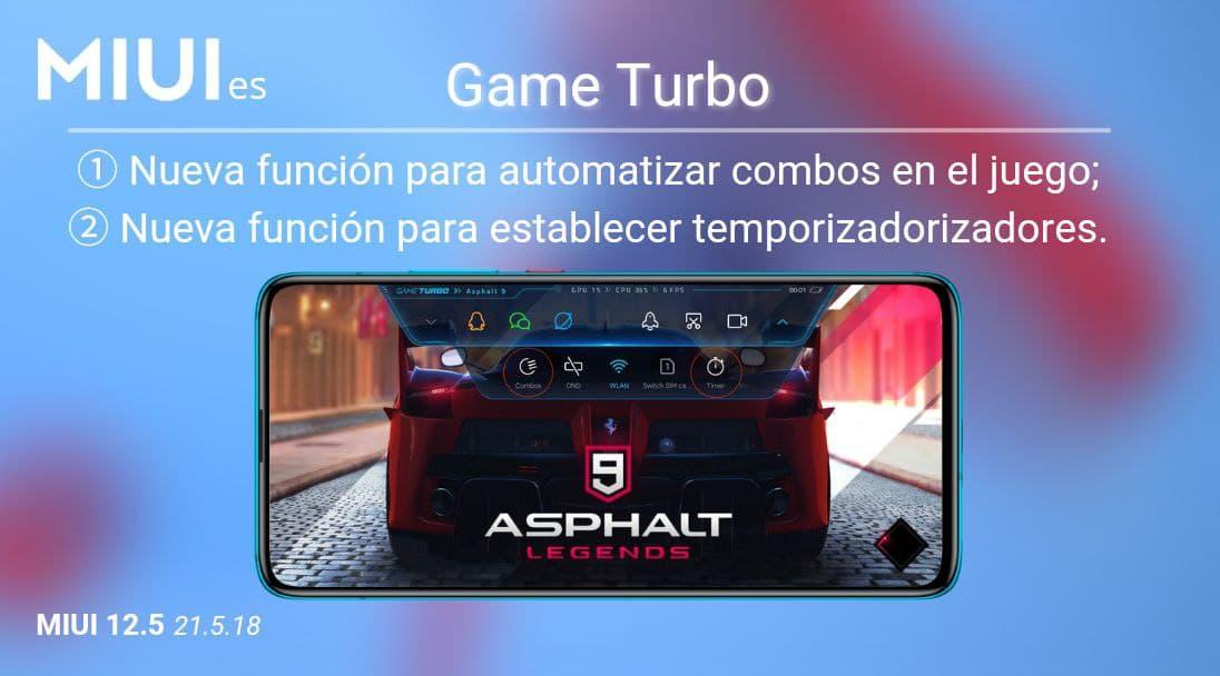 Xiaomi mejora Game Turbo con importantes novedades a la hora de jugar. Noticias Xiaomi Adictos