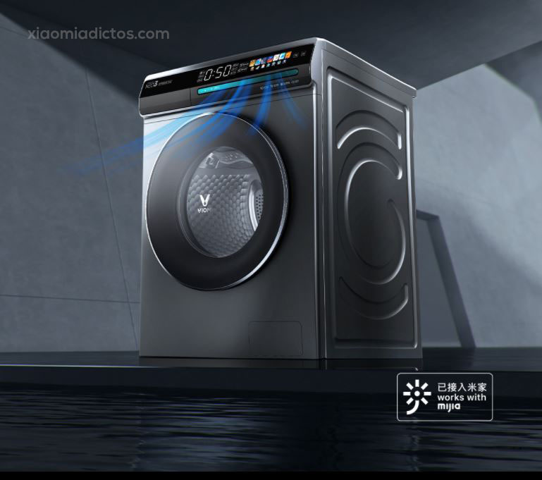 Xiaomi lanza una nueva lavadora con secadora, pantalla a color y soporte Mi Home. Noticias Xiaomi Adictos