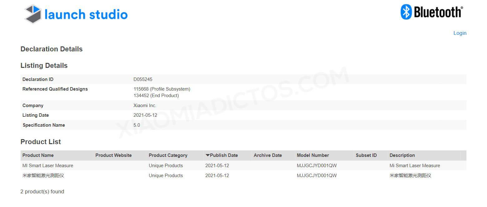 Xiaomi prepara la llegada de su primer medidor láser inteligente. Noticias Xiaomi Adictos