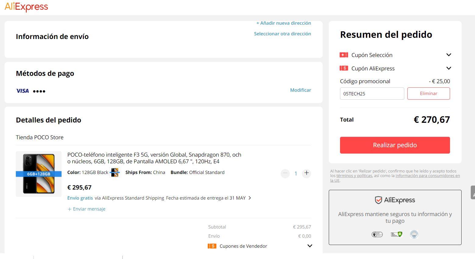 El POCO F3 vuelve a estar por menos de 300 euros en Amazon y AliExpress. Noticias Xiaomi Adictos