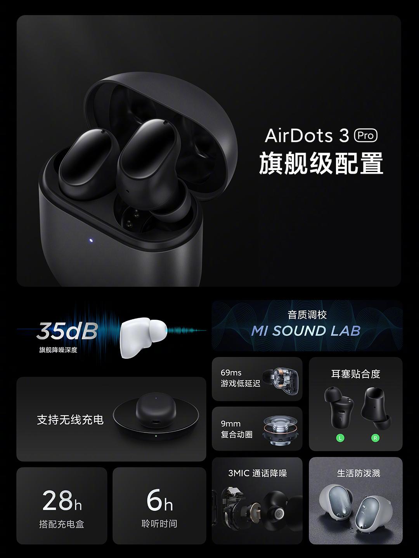 Los nuevos Redmi AirDots 3 Pro ya están aquí: la mayor evolución en toda su historia. Noticias Xiaomi Adictos