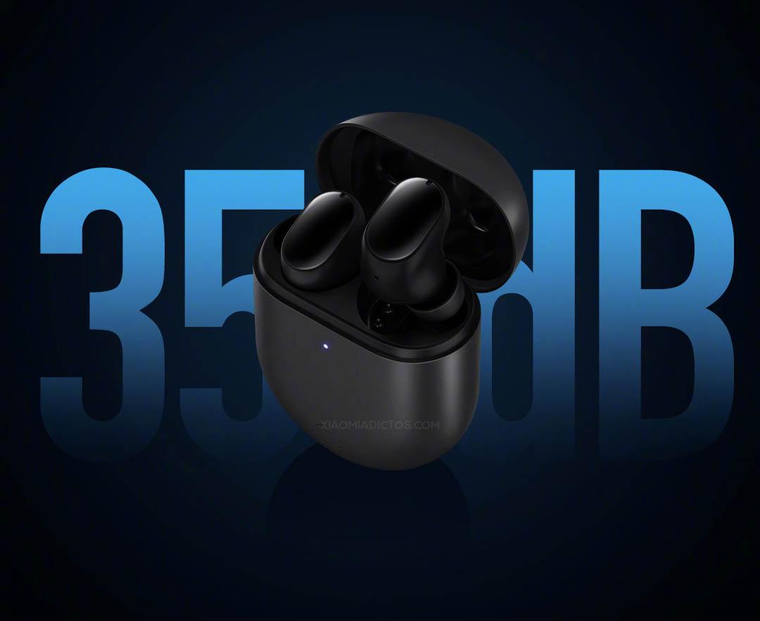 Así son los nuevos Redmi AirDots 3 Pro: carga inalámbrica y cancelación activa de ruido. Noticias Xiaomi Adictos