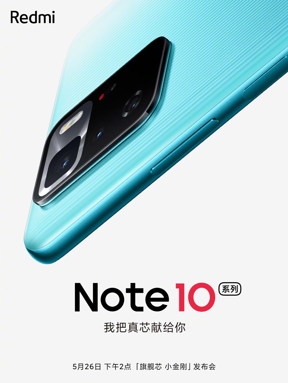 Los Redmi Note 10 Pro 5G y Note 10 Pro+ 5G se presentarán este 26 de mayo. Noticias Xiaomi Adictos