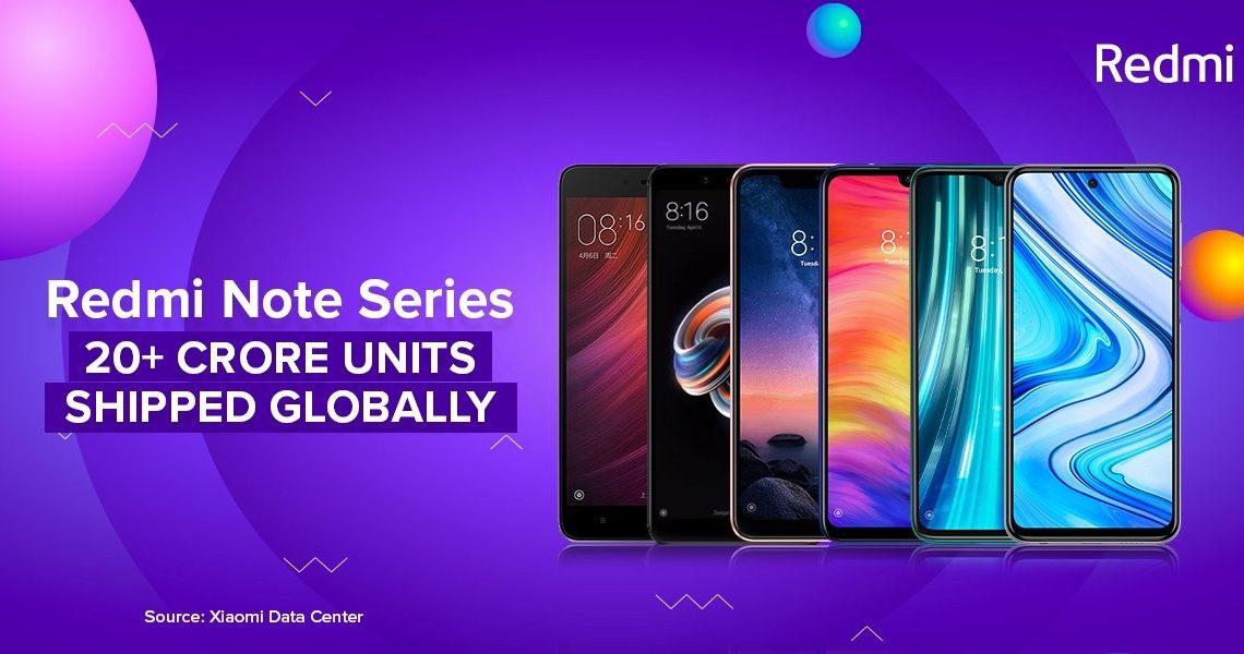 La Serie Redmi Note de Xiaomi supera los 200 millones de unidades vendidas . Noticias Xiaomi Adictos