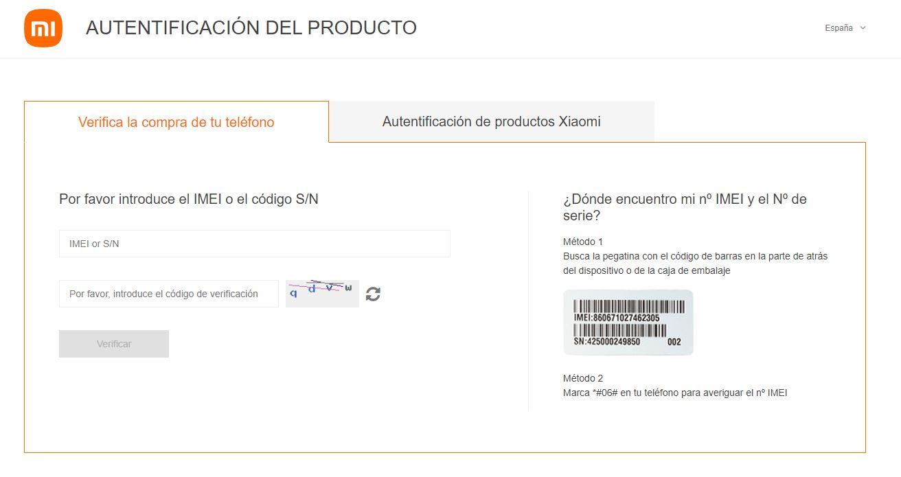 Cómo saber si tu Xiaomi es original o en cambio te han vendido uno falso. Noticias Xiaomi Adictos