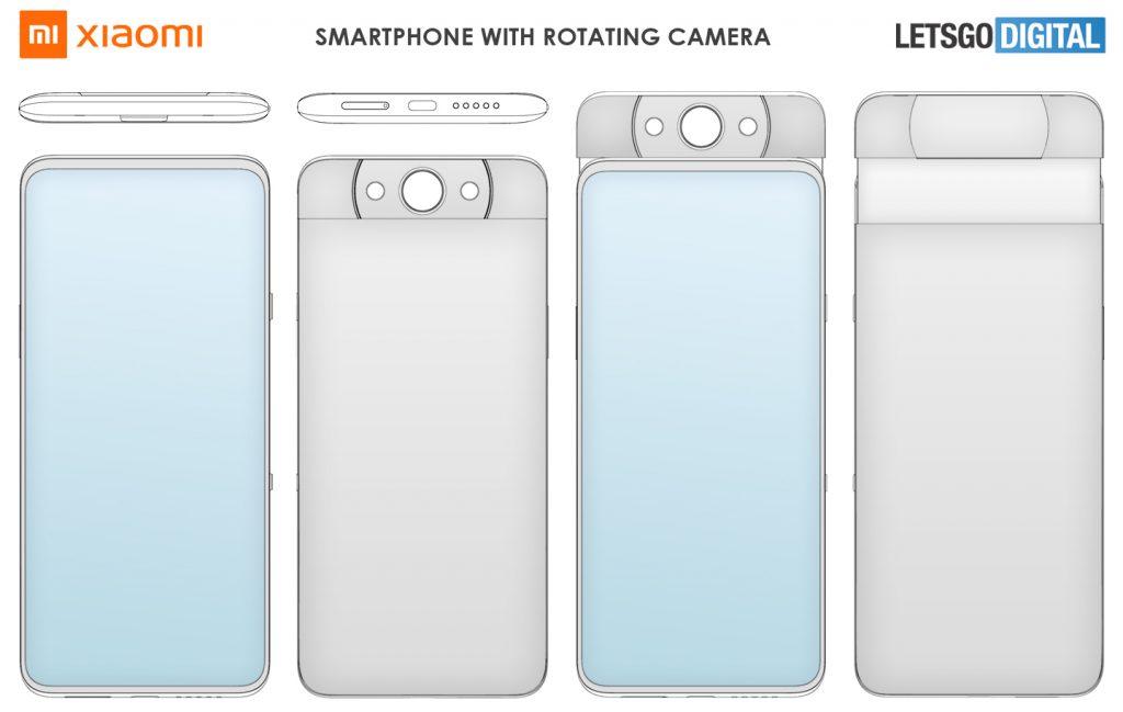 Cámara rotatoria y además emergente: así es la última idea de Xiaomi. Noticias Xiaomi Adictos