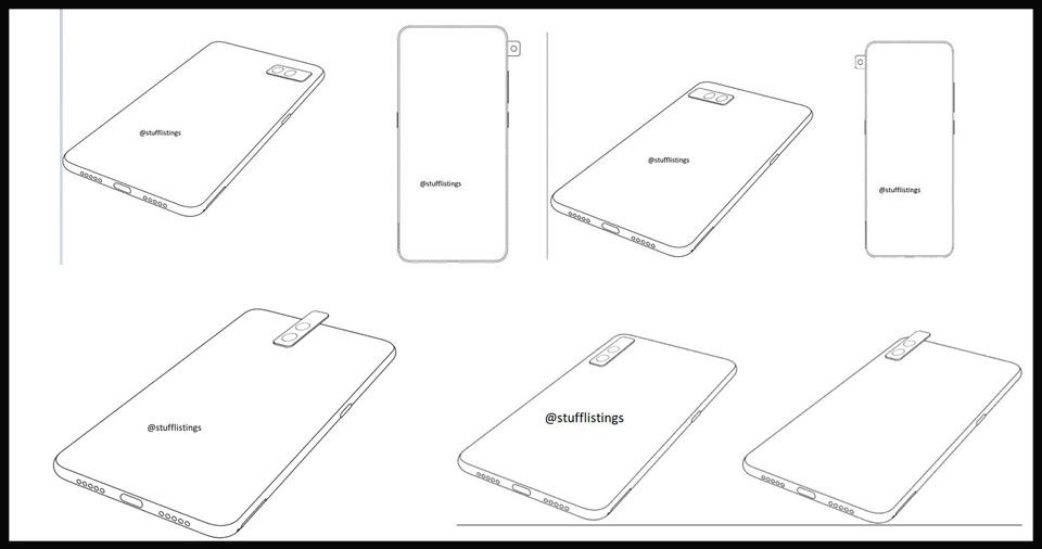 Nueva patente de Xiaomi revela una cámara totalmente modular