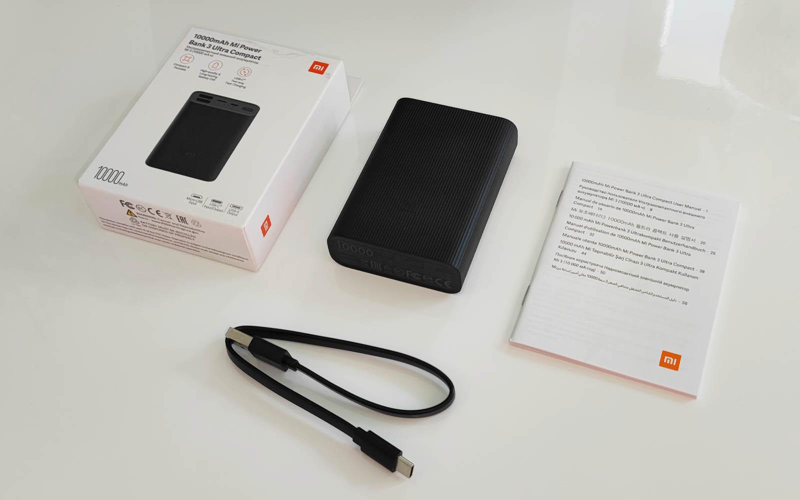 Probamos la Mi Power Bank 3 Ultra Compact, la batería más compacta y práctica de Xiaomi. Noticias Xiaomi Adictos