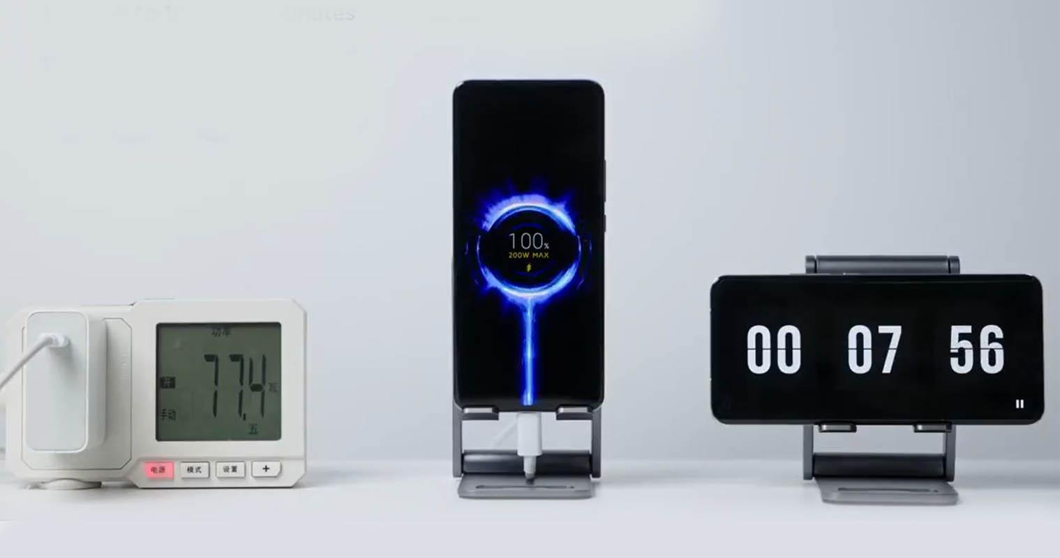 Xiaomi asegura que su carga rápida de 200W no daña en exceso la batería. Noticias Xiaomi Adictos