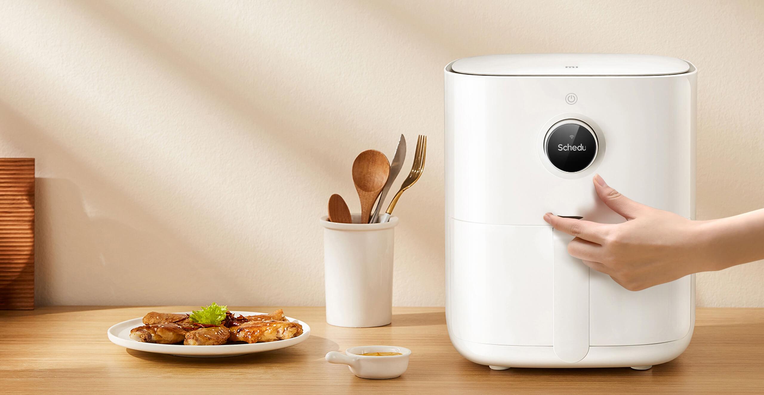 Mi Smart Air Fryer, la freidora sin aceite de Xiaomi llega a Europa cargada de recetas. Noticias Xiaomi Adictos