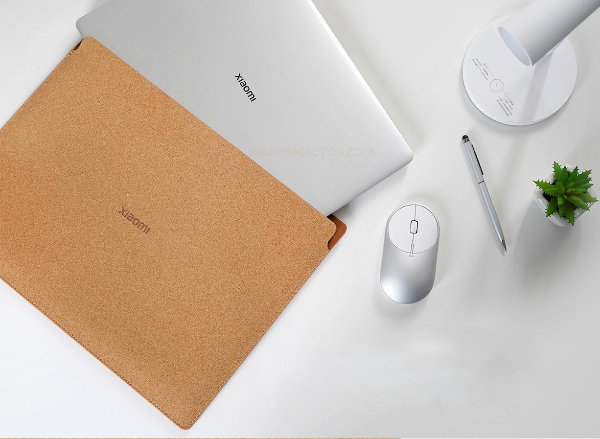 Xiaomi lanza una nueva funda para portátiles que podemos usar como alfombrilla. Noticias Xiaomi Adictos