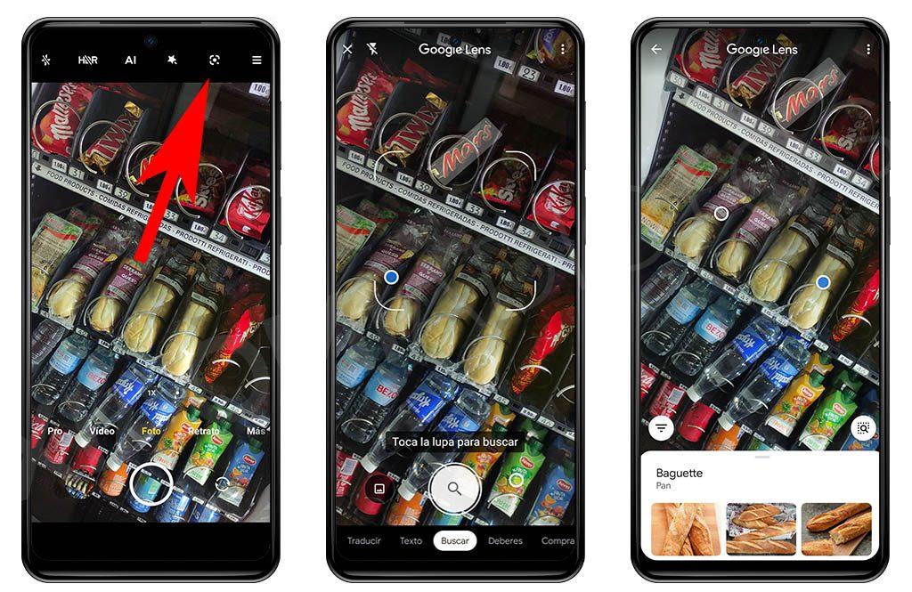 Así puedes buscar información en Internet utilizando la cámara de tu Xiaomi. Noticias Xiaomi Adictos