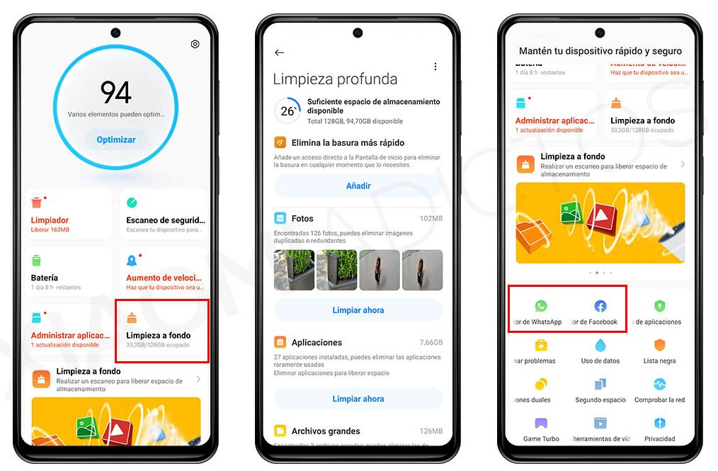 How to clean your Xiaomi thoroughly without installing extra applications