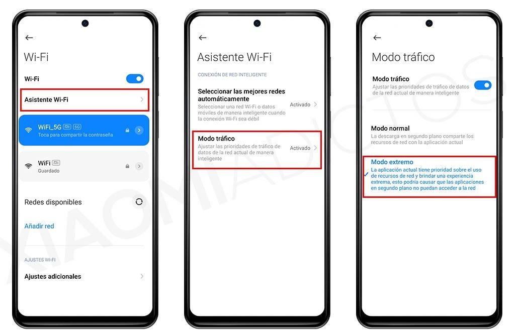 Qué es el modo extremo, cómo mejora la velocidad WiFi de tu Xiaomi y dónde se activa. Noticias Xiaomi Adictos