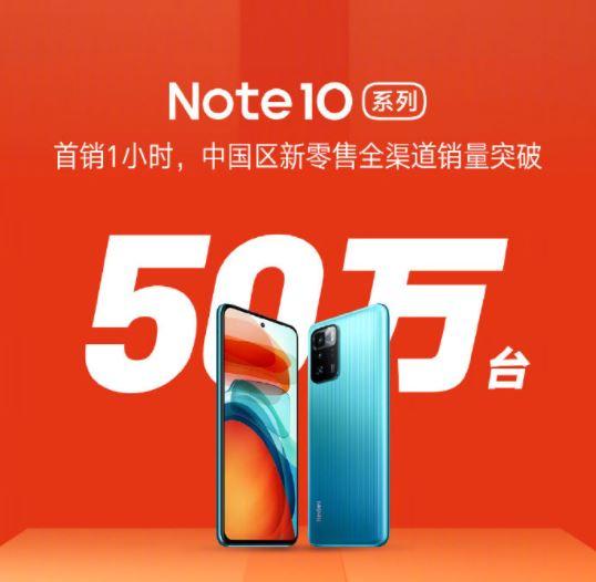 El Redmi Note 10 Pro 5G arrasa en China durante su primer día a la venta. Noticias Xiaomi Adictos