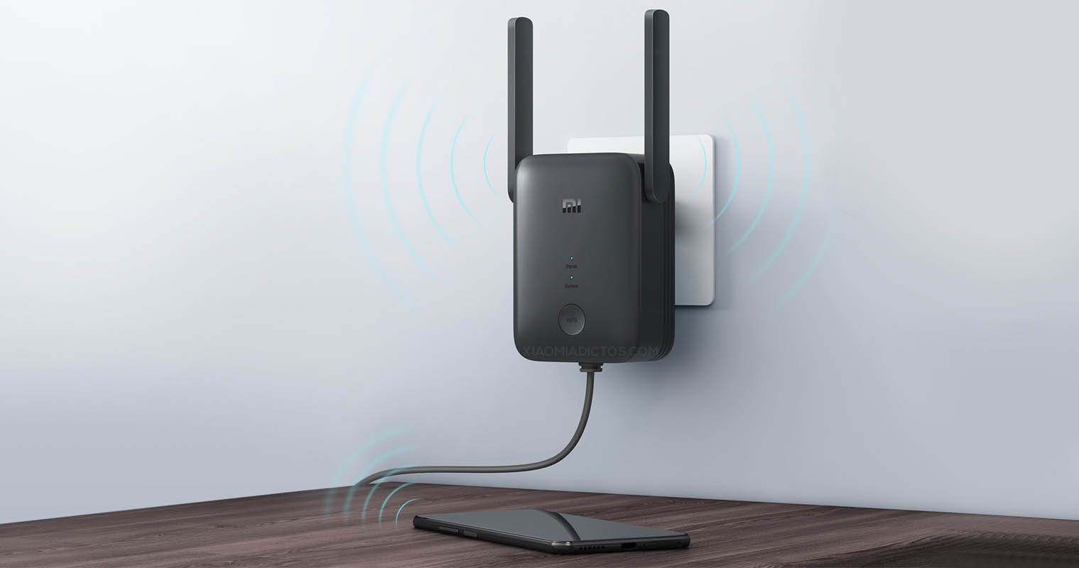 Xiaomi launches the Mi WiFi Range Extender AC1200, a new WiFi repeater with Ethernet port