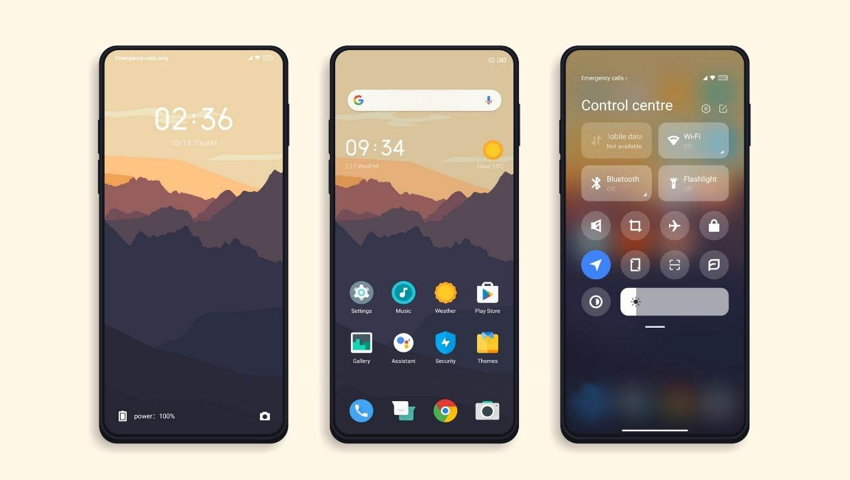Five themes for your Xiaomi that you should not stop trying