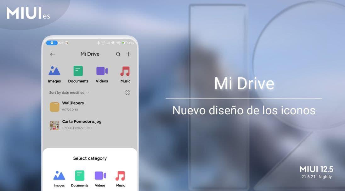 Así es la nueva interfaz de Mi Drive, la alternativa de Xiaomi a Google Drive. Noticias Xiaomi Adictos