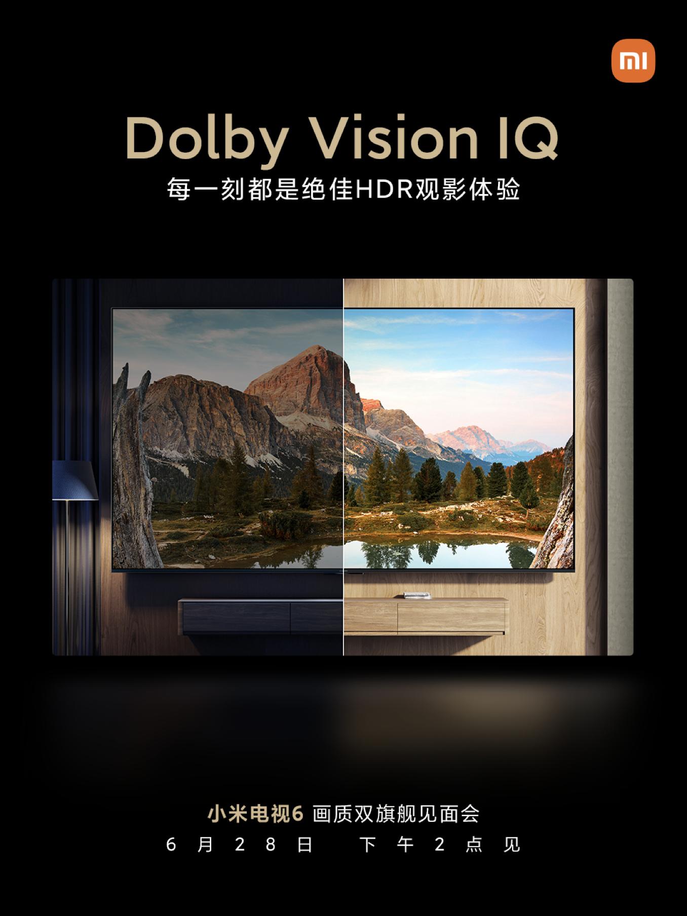 Los nuevos televisores Xiaomi Mi TV 6 contarán con IMAX Enhanced y Dolby Vision IQ. Noticias Xiaomi Adictos