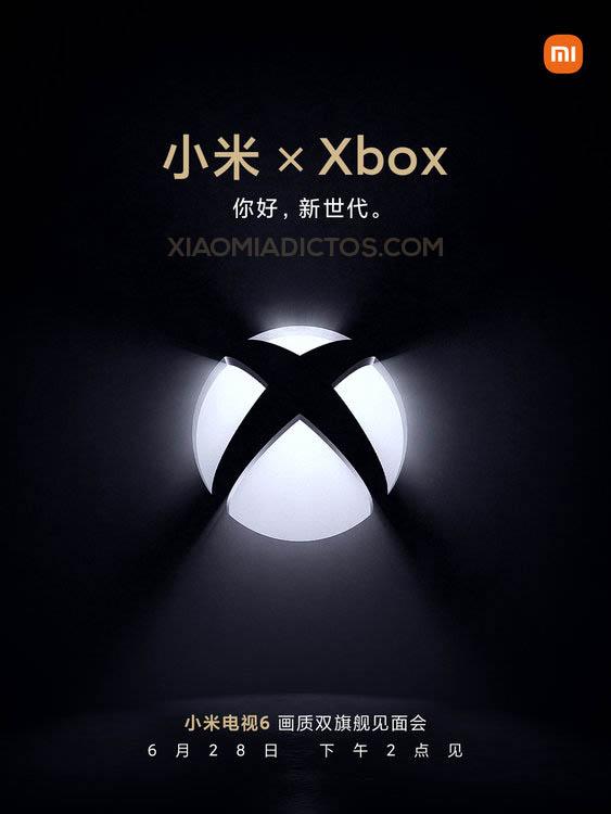 Los nuevos Xiaomi Mi TV 6 contarán con certificación Xbox y AMD FreeSync Premium. Noticias Xiaomi Adictos