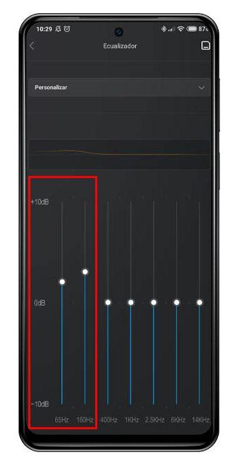 Potencia los graves de tus auriculares desde tu Xiaomi sin tener que instalar aplicaciones. Noticias Xiaomi A