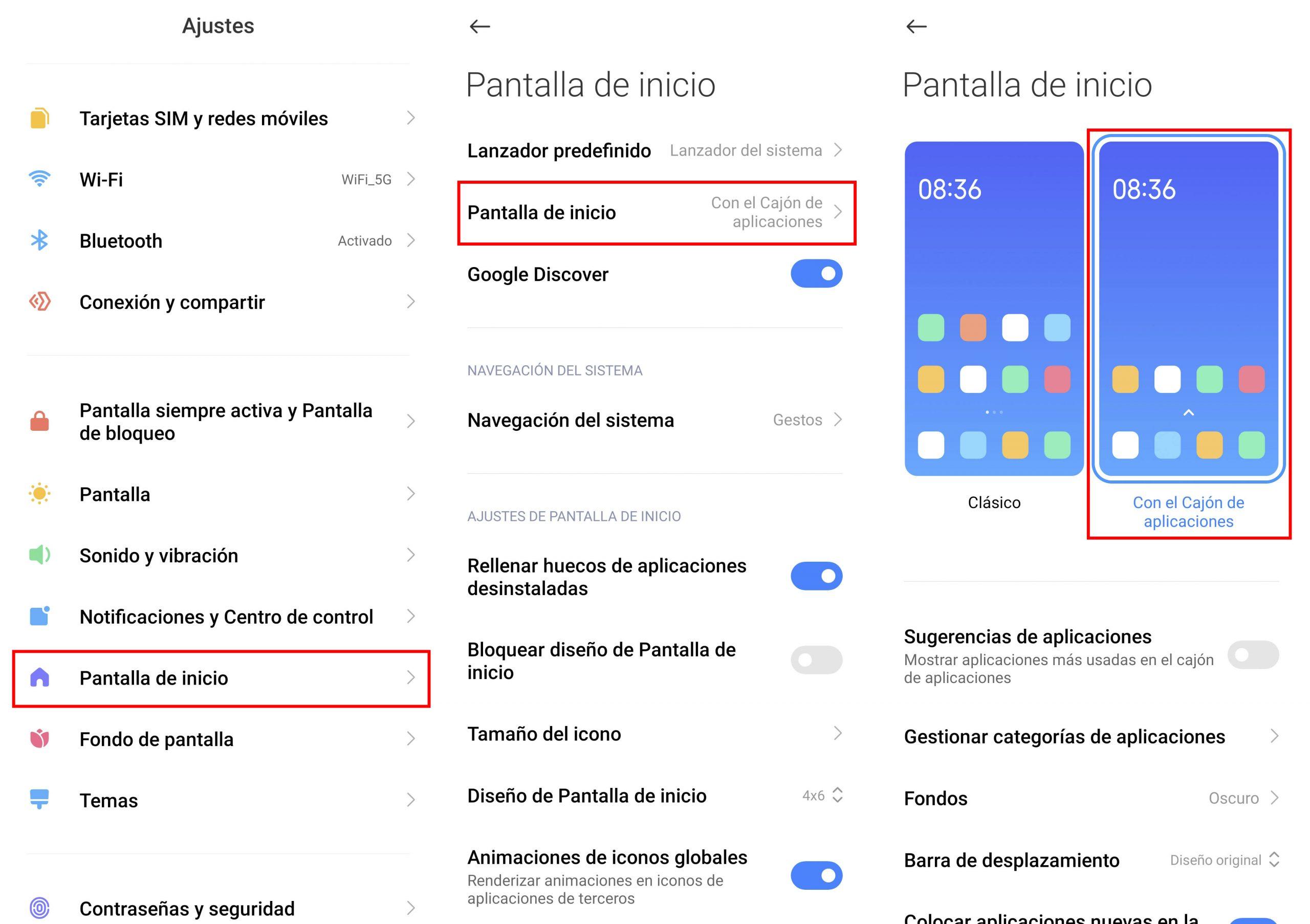 Cómo usar y personalizar el cajón de aplicaciones de tu Xiaomi como un profesional. Noticias Xiaomi Adictos