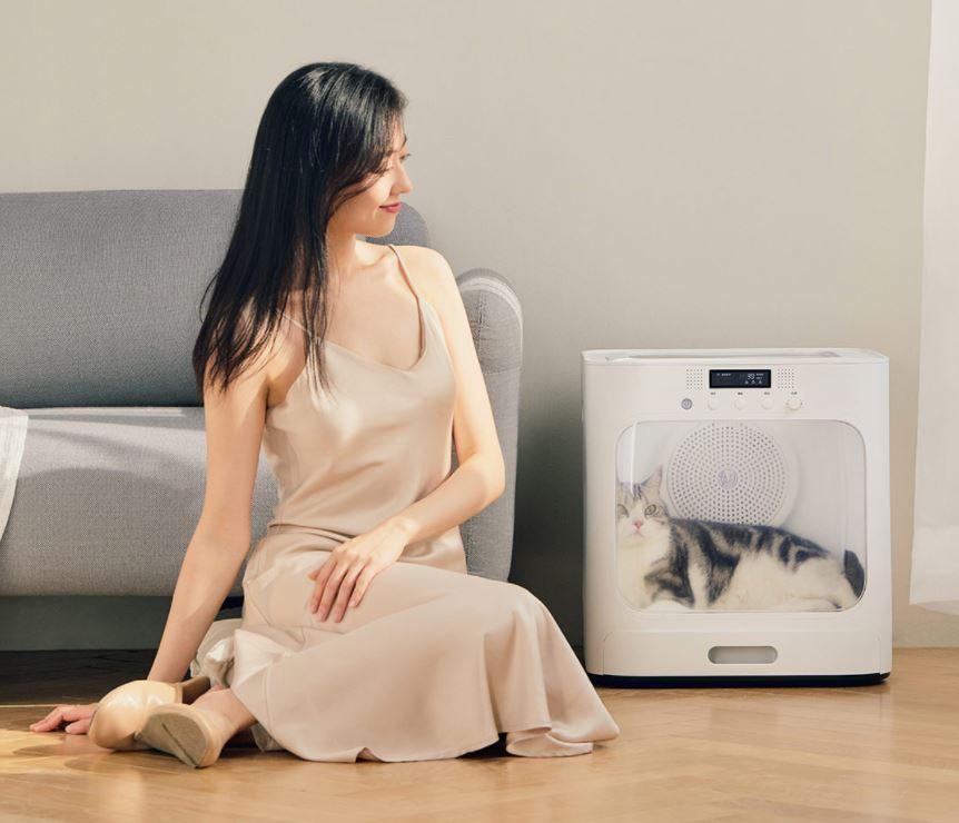 Xiaomi pone a la venta una práctica caseta de secado para mascotas. Noticias Xiaomi Adictos